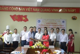 Thai Nguyen University of Sciences Signed a Long-term Cooperation Agreements with Honghe University, China.